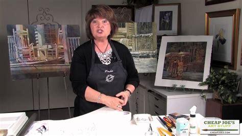 cheap joe s watercolor tutorial linda baker product tutorial cheap joe s artist tape youtube