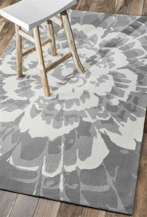 Gray Kitchen Rugs Terrace Ve15 Grey Rug Outdoor Rugs For The Kitchen Table Lb Great Room Pinterest