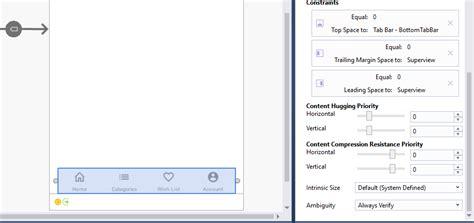 xamarin layout margin xamarin ios xamarin ios designer left right margins