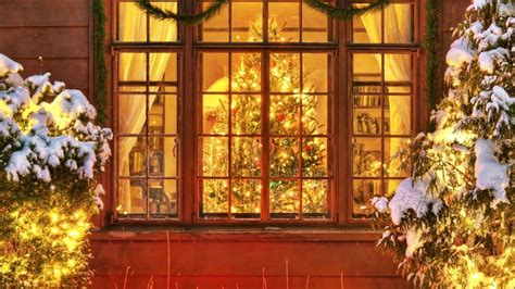 wallpaper christmas windows christmas window full hd wallpaper and background