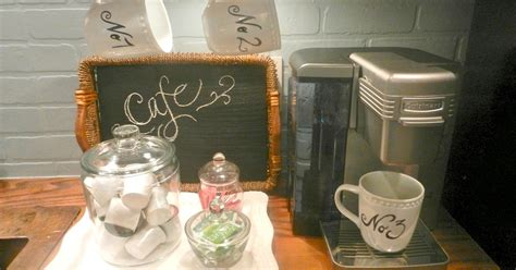 chalk paint jacksonville nc my mini coffee station it greets me every morning hometalk