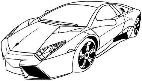 Coloriage Transport Voiture De Course Page L