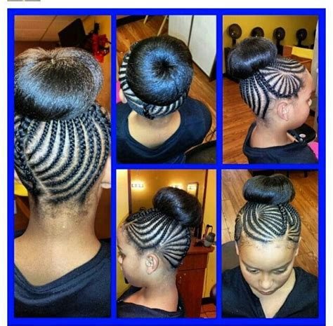 braids too big for bun bun and braids little girls hairstyles pinterest