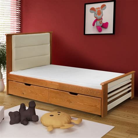 lits avec tiroirs lit enfant am 233 lie couleur aulne et vanille avec tiroirs www petitechambre fr