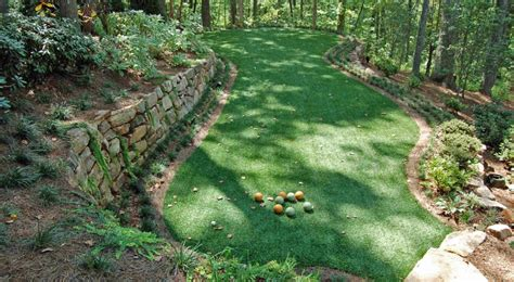 backyard bocce ball court nashville tn synthetic grass lawns