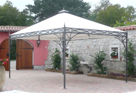 metal gazebos   Metal Design Furniture Blog