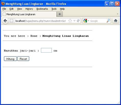 membuat link menu dengan php membuat program menu dengan php menggunakan switch case