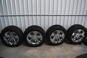 Chevy Truck 20 Inch Wheels Chevy 20 Inch Ltz Wheels For Sale Oem Factory Wheels