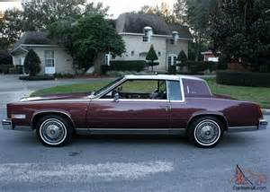 Cadillac Biarritz 1985 Gorgeous Pristine Luxury Survivor 1985 Cadillac Eldorado