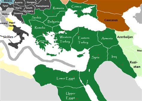 Provinces Of The Ottoman Empire Syria Is Not A Country