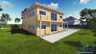 Home Sch10 4 X 40ft 4 Bedroom Container Home Eco Home Designer