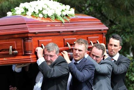 Cooper Coffin Tour Ukuran S phillip hughes laid to rest in hometown nationnews barbados local regional and
