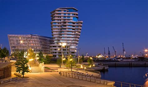 Marco Polo Tower by Hamburg Hafencity