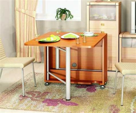 desain meja makan lipat 30 space saving folding table design ideas for functional