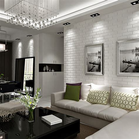 brick wall living room 30 white brick wall living rooms that inspire your design