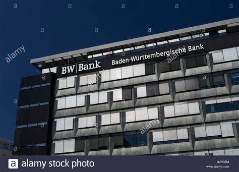 bw bank stuttgart sillenbuch headquarters of the bw bank stuttgart germany stock