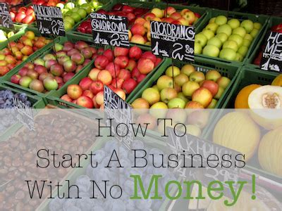 how to start a business with no money i need money asap