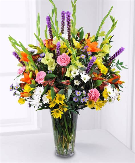 arrangement of flowers designers choice garden style flower arrangements
