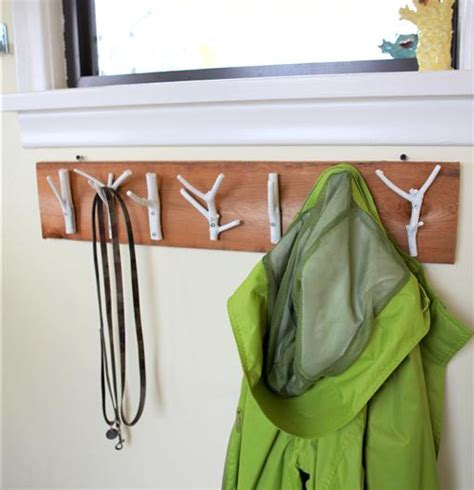Clever Storage Ideas For Small Bedrooms how to make easy diy branch coat hangers 187 curbly diy