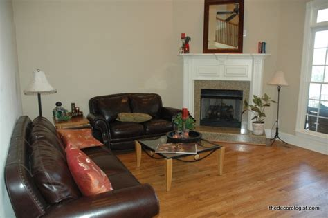 where to place furniture in living room how to arrange furniture in a room with a corner fireplace