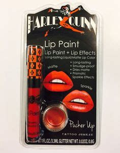 tattoo junkee amazon 5 piece cosmetic brush set with harley quinn inspired