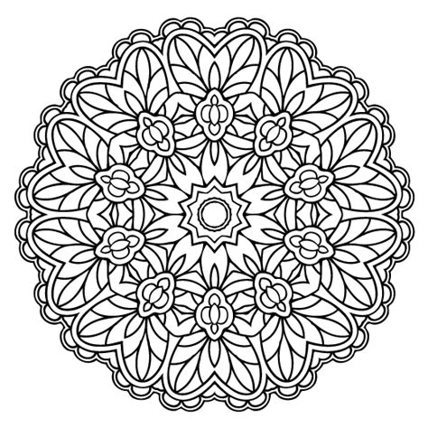 adult mandala coloring pages my masterpiece adult