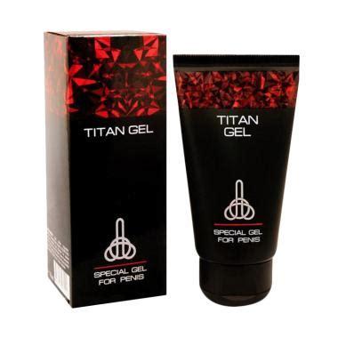 Titan Gel Obat Oles Pria Dewasa jual titan gel original gel pembesar dan panjang alat vital pria hasil permanent harga