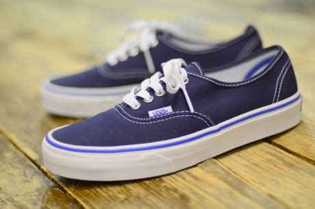 Vans Authentic Dress Navy Blue Gum Brown sparky the hundreds