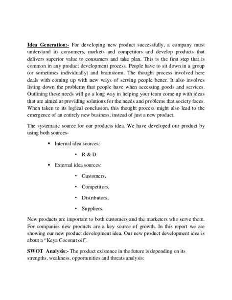 New Product Development Essay new product development essay exle topics and well written essays words