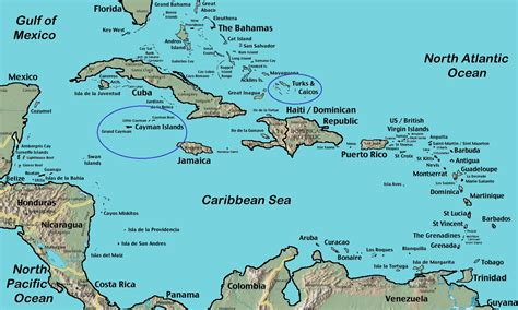 cayman islands map caribbean jamaican emigrants to the turks and caicos islands