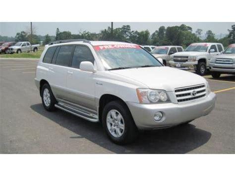Length Of Toyota Highlander 2003 Toyota Highlander Limited Data Info And Specs