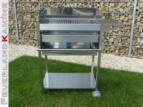 Grill Re by Edelstahlgrill Holzkohle Standgrill Grill Ibiza Ii Ablage