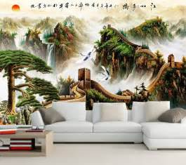 Chinese Wall Murals large 3d murals chinese great wall wallpaper papel de