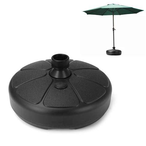 Ipree 38mm Outdoor Garden Beach Umbrella Stand Plastic Patio Umbrella Base Stand