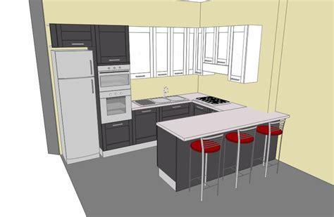 progetto cucina con isola forum arredamento it progetto cucina con penisola scorrevole