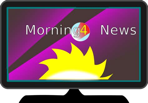 Morning News by Free Clipart Tv Morning News Algotruneman