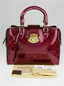louis vuitton rouge fauviste monogram vernis melrose
