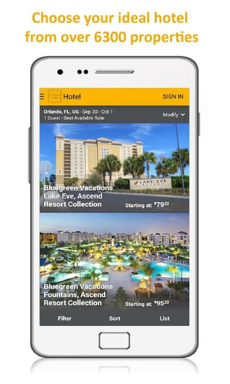 Choice Hotel E Gift Card - choice hotels book now android apps on google play