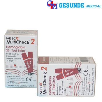 Alat Tes Hemoglobin jual hemoglobin nesco multicheck toko medis jual