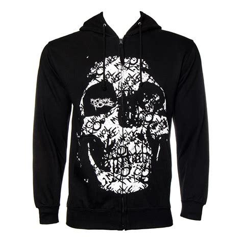my chemical haunt zip up hoodie mcr band merchandise