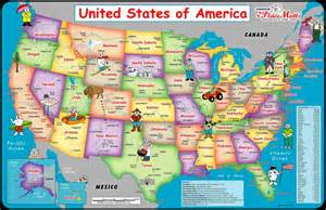 map of the united states with mountain ranges map of the united states