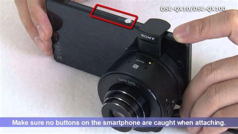 Lensa Kamera Sony Dsc Qx100 dsc qx10 dsc qx100 start guide for android