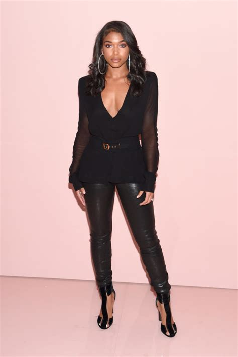 lori harvey tom ford on the scene tom ford s spring 2018 show with kim