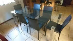 Contemporary Glass Dining Room Table Modern Glass Dining Room Table Pretoria Co Za