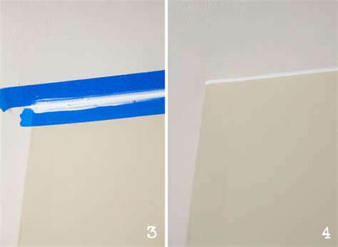 Ceiling Line How To Paint A Line Between Wall And Ceiling My
