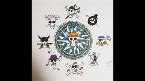 one piece tattoo designs one drawing one design copic marker