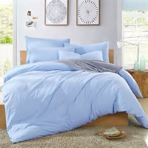 baby blue comforter set cotton knit color light blue duvet cover comforter