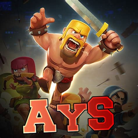 ays gaming clash of clans more