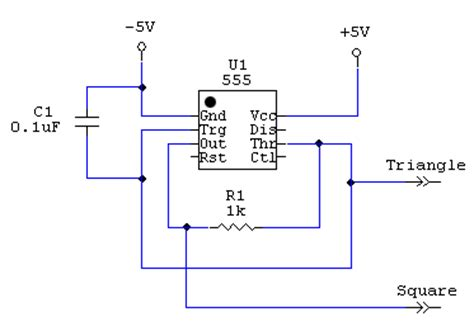 triangle wave generator circuit diagram efcaviation