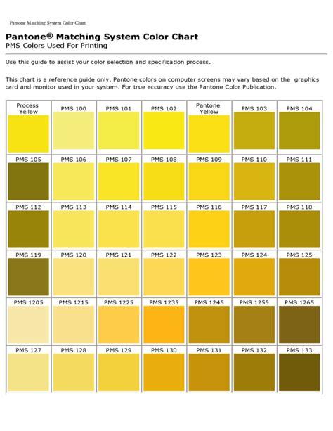 pantone colors pantone matching system color chart free
